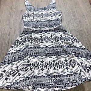 H&M Print Skater Dress